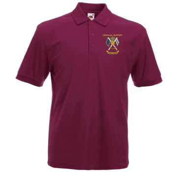 Command Support Embroidered Polo Shirt